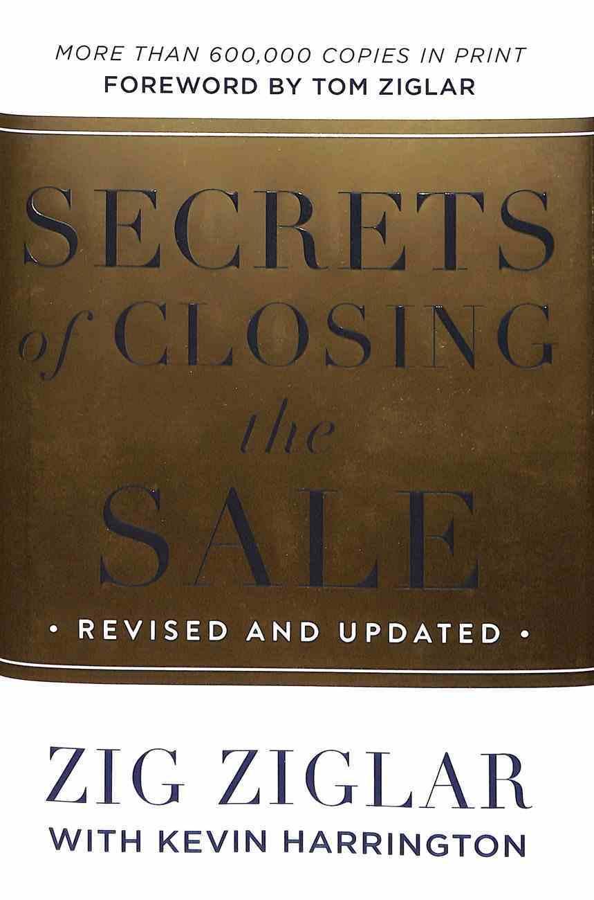 Secrets of Closing the Sale Hardback