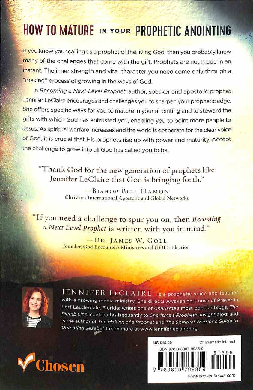 Becoming a Next-Level Prophet: An Invitation to Increase in Your Gift Paperback