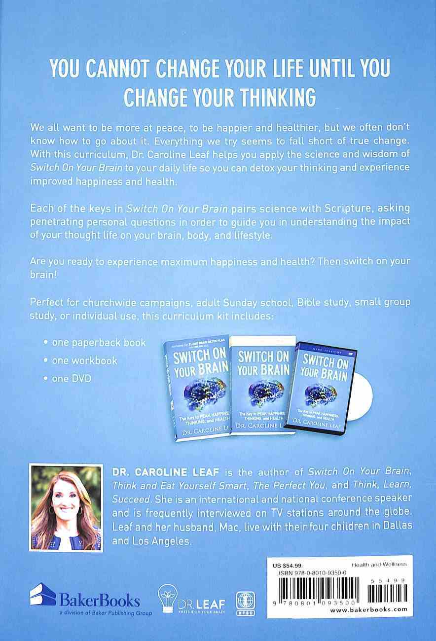 Switch on Your Brain: The Key to Peak Happiness, Thinking, and Health (Curriculum Kit) Pack