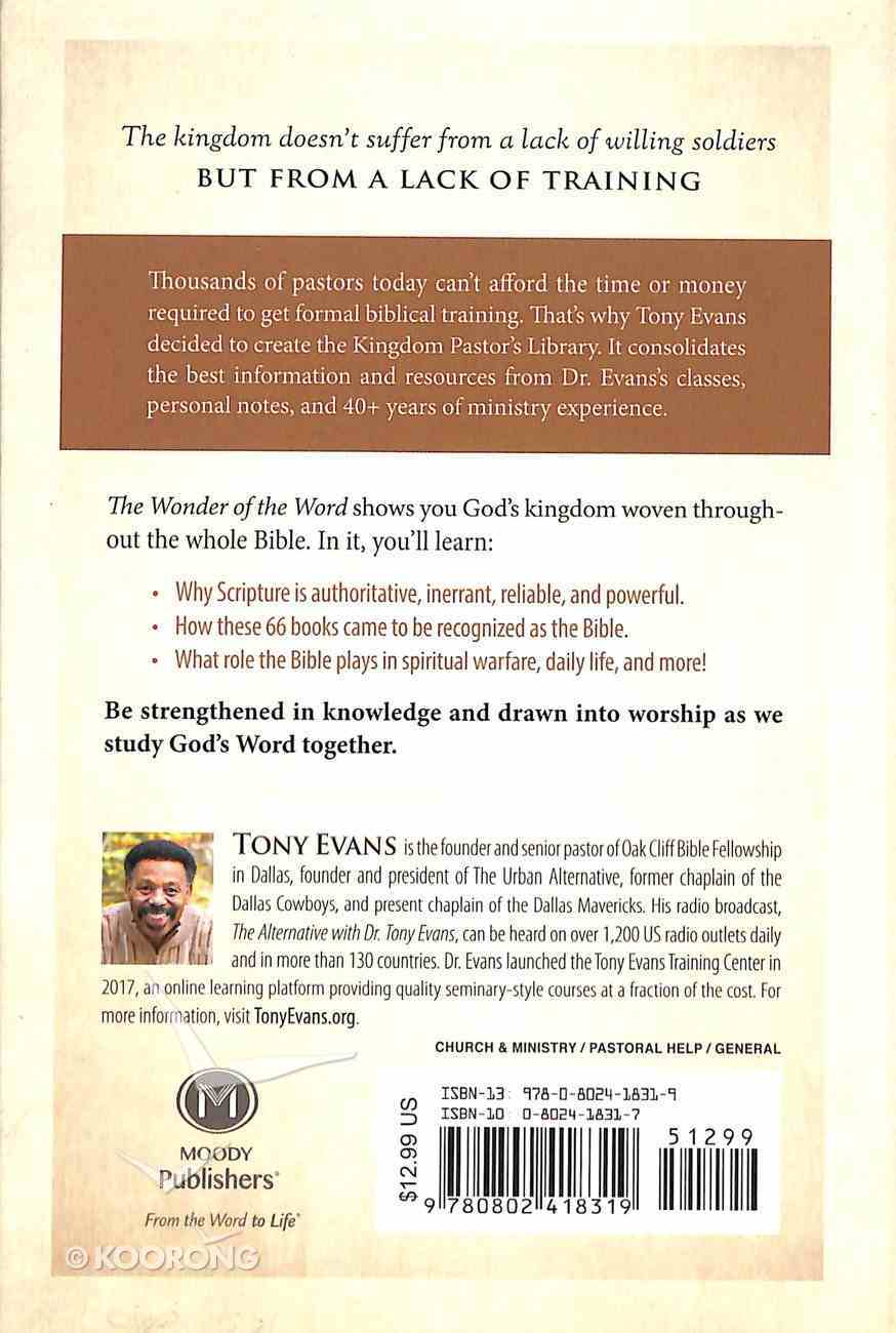 Kpl: The Wonder of the Word: Hearing the Voice of God in Scripture Hardback