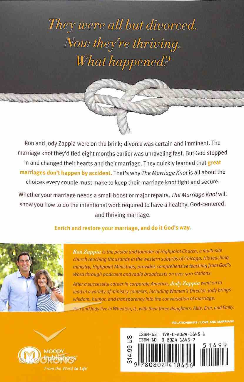 The Marriage Knot: 7 Choices That Keep Couples Together Paperback