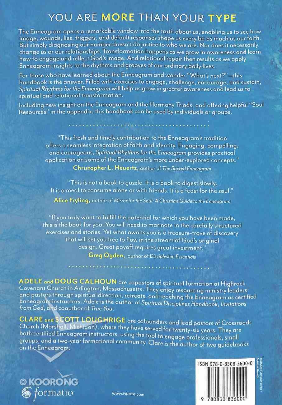 Spiritual Rhythms For the Enneagram: A Handbook For Harmony and Transformation Paperback