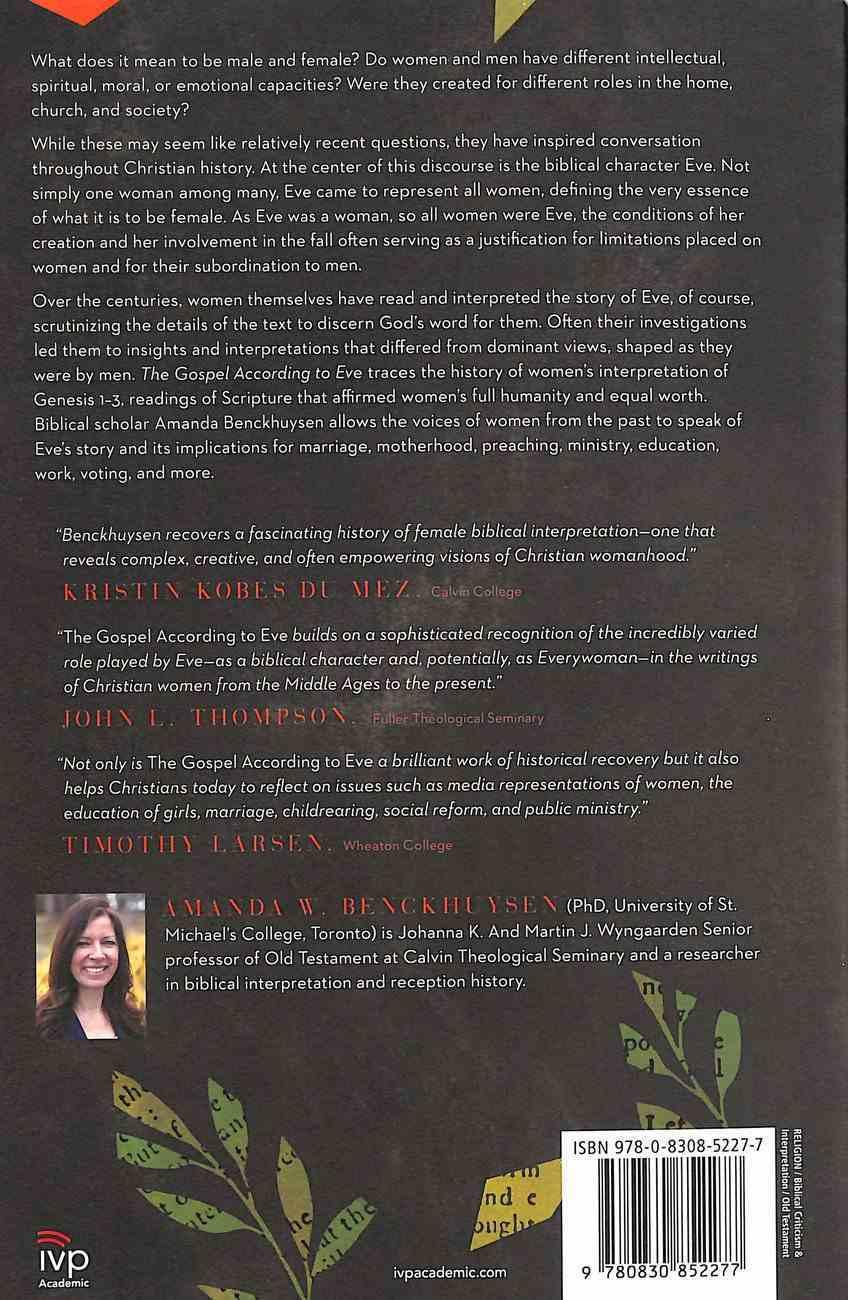 The Gospel According to Eve: A History of Women's Interpretation Paperback