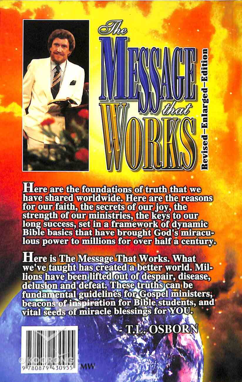 The Message That Works Paperback