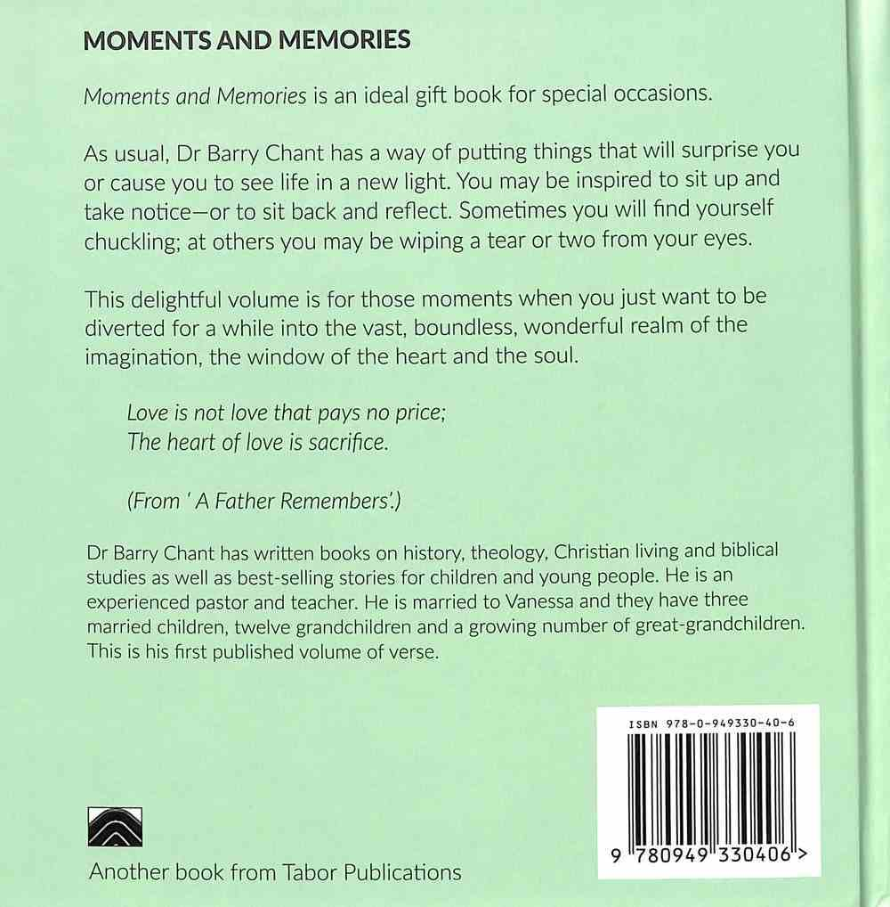 Moments & Memories Hardback