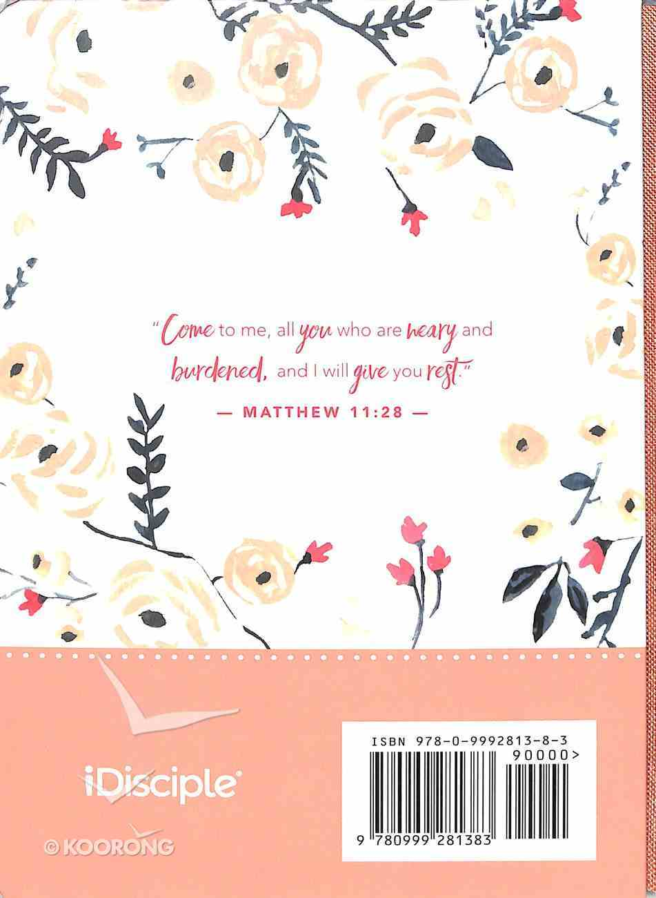 Signature Journal: Find Rest, Peach Flowers Hardback