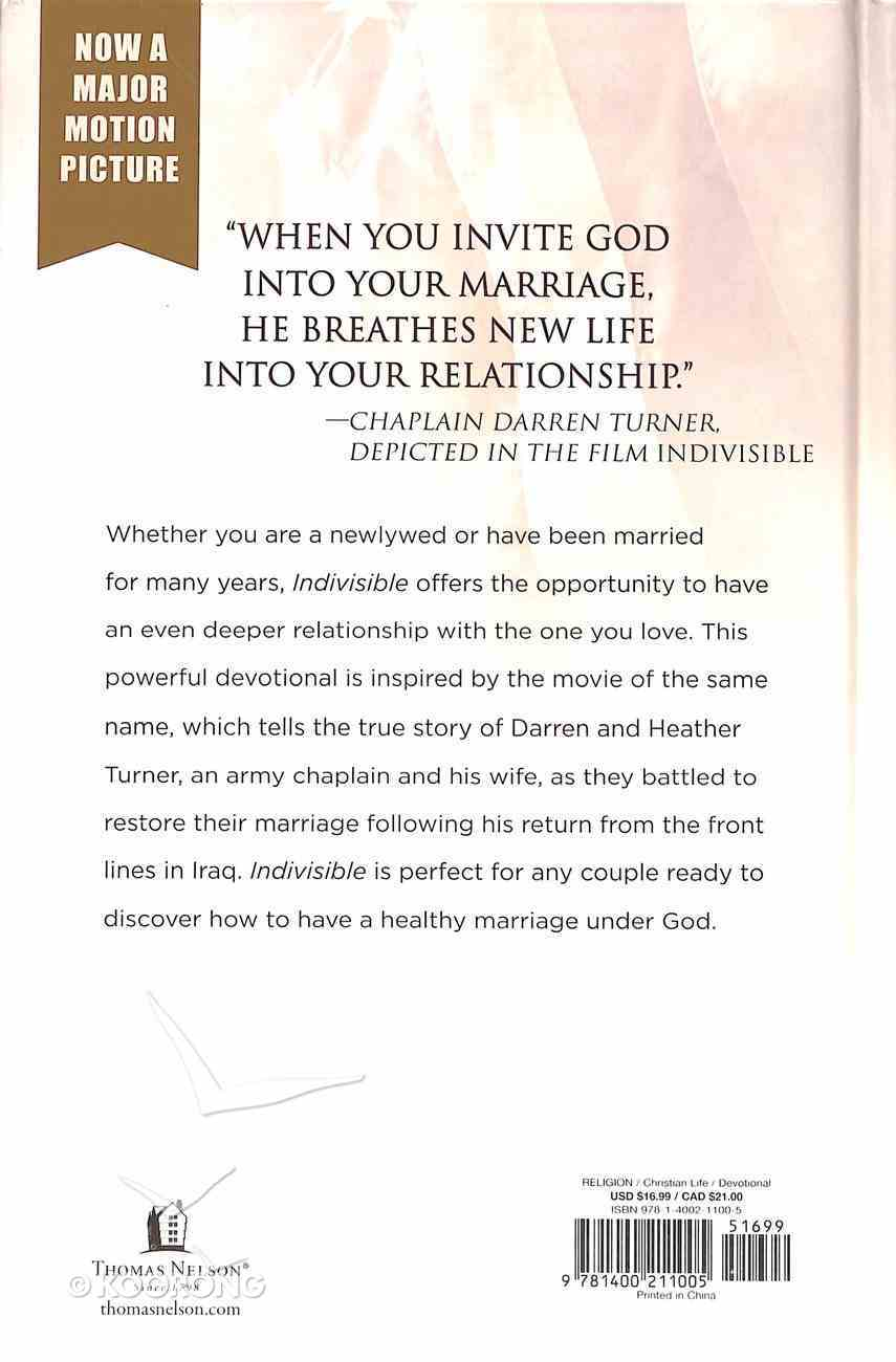 Indivisible: One Marriage Under God Hardback