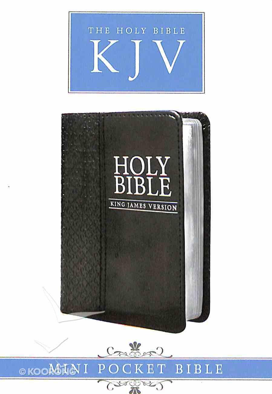 KJV Mini Pocket Edition Black (Black Letter Edition) Imitation Leather