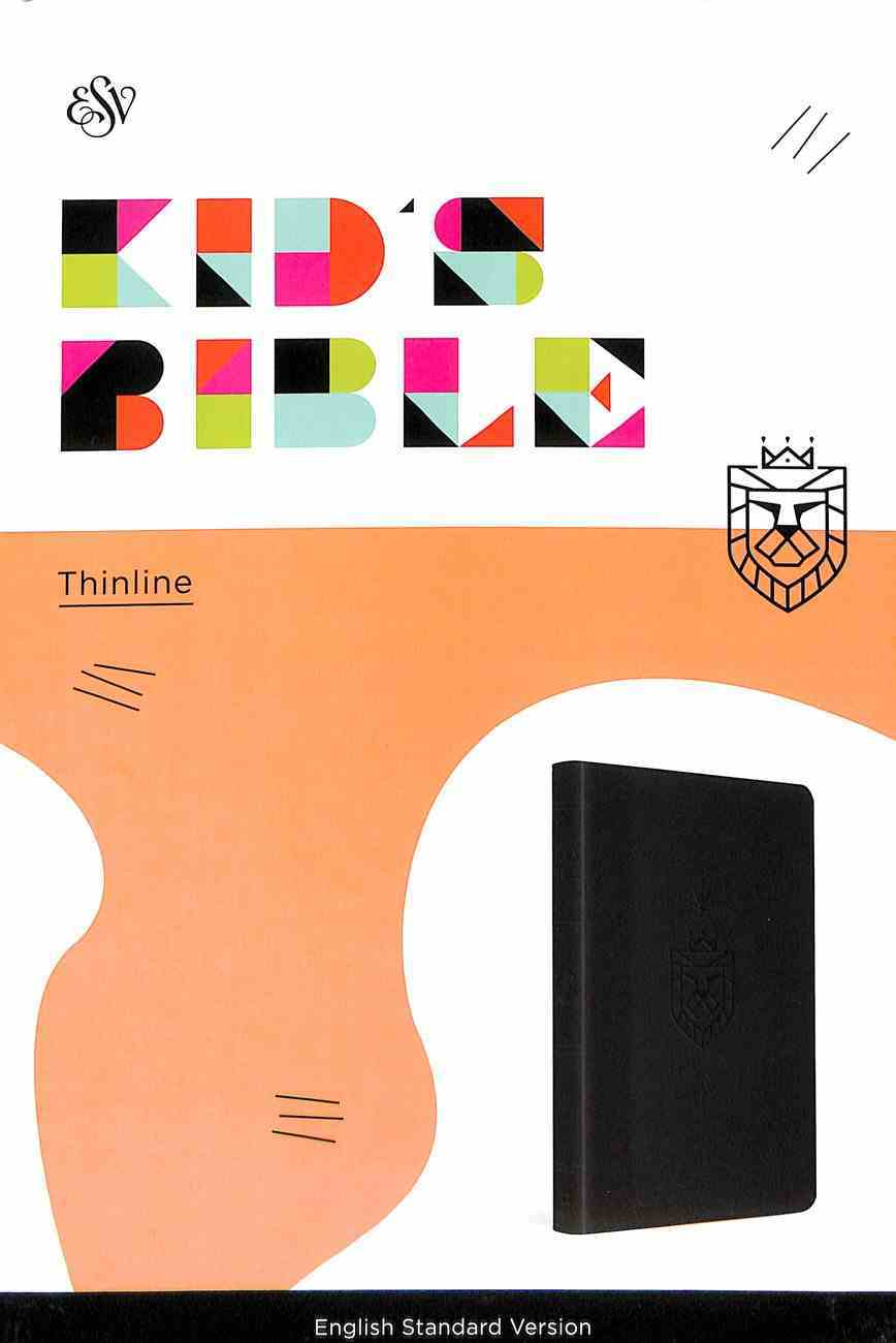 ESV Kid's Thinline Bible Lion of Judah (Red Letter Edition) Imitation Leather