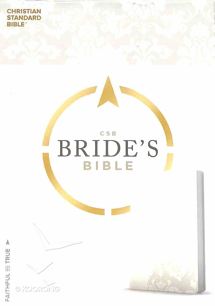 CSB Bride's Bible White Leathertouch Imitation Leather