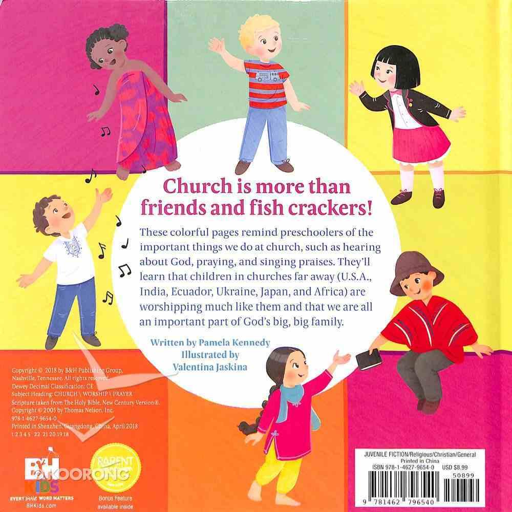 God's Big, Big Church Board Book