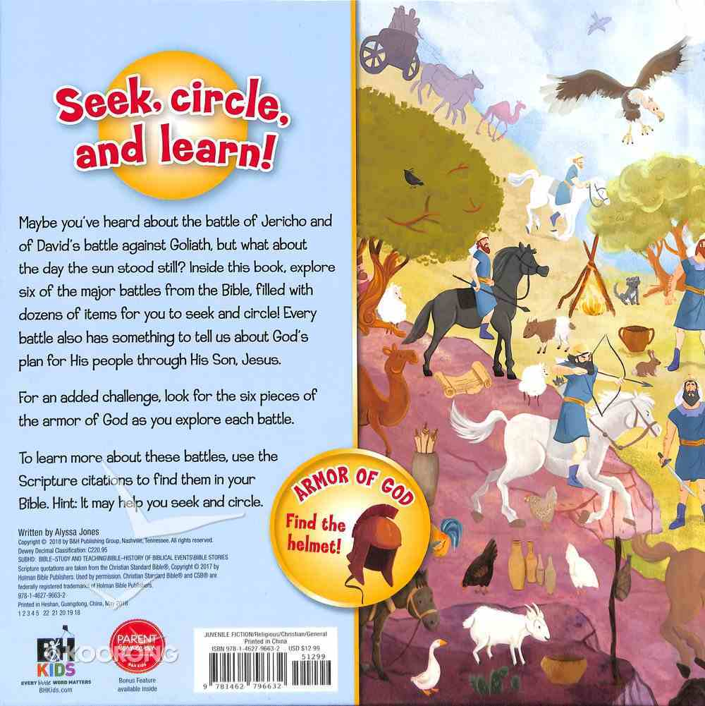 Bible Battles (Ages 4-8) (Seek-and-circle Series) Board Book