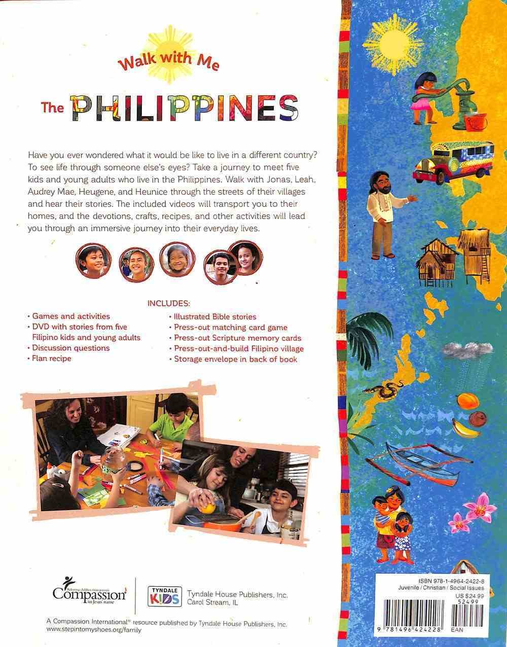 Philippines, The: An Interactive Experience (Includes DVD and Card Game) (Walk With Me Series) Hardback