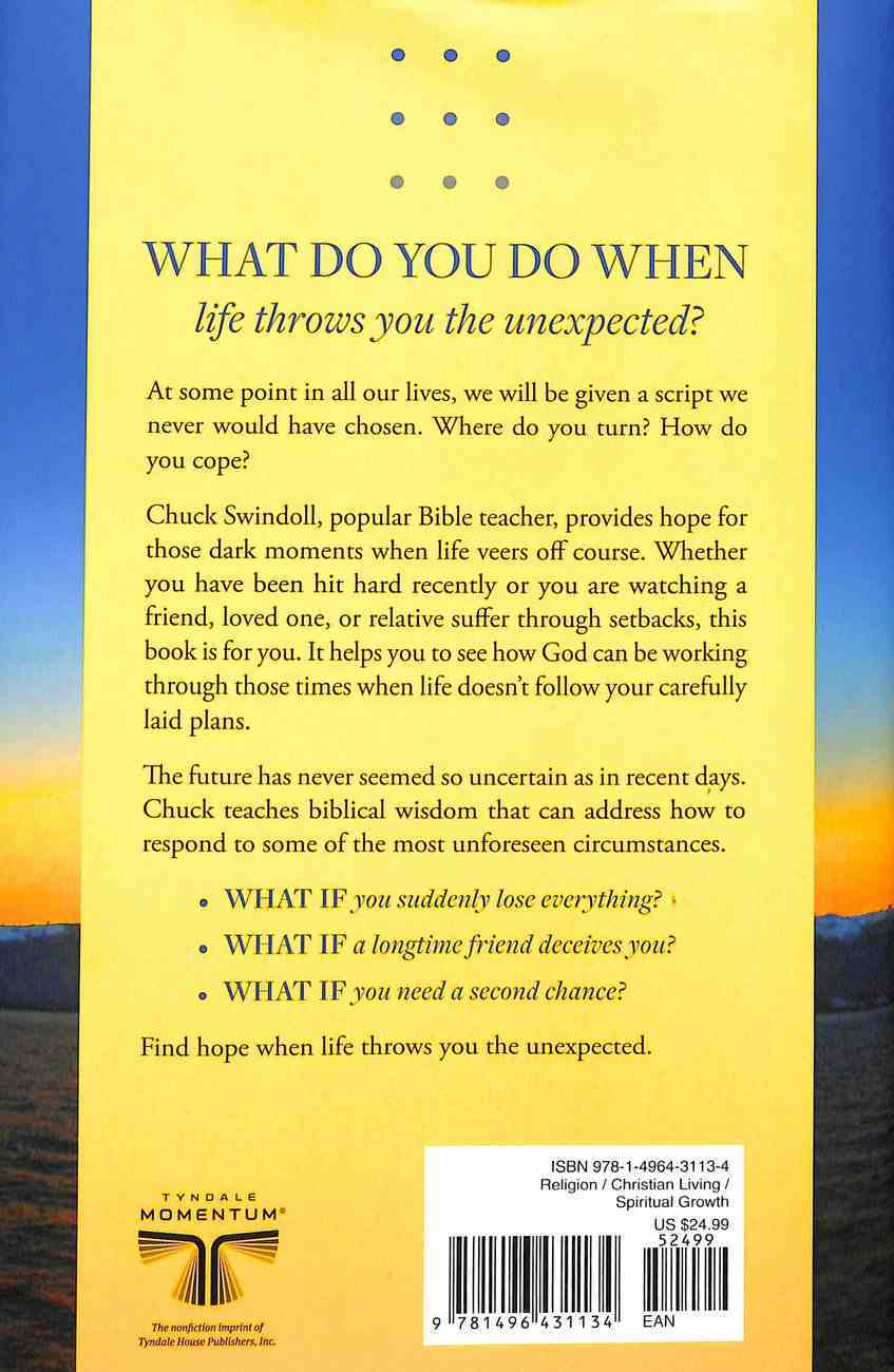 What If . . . God Has Other Plans?: Finding Hope When Life Throws You the Unexpected Hardback