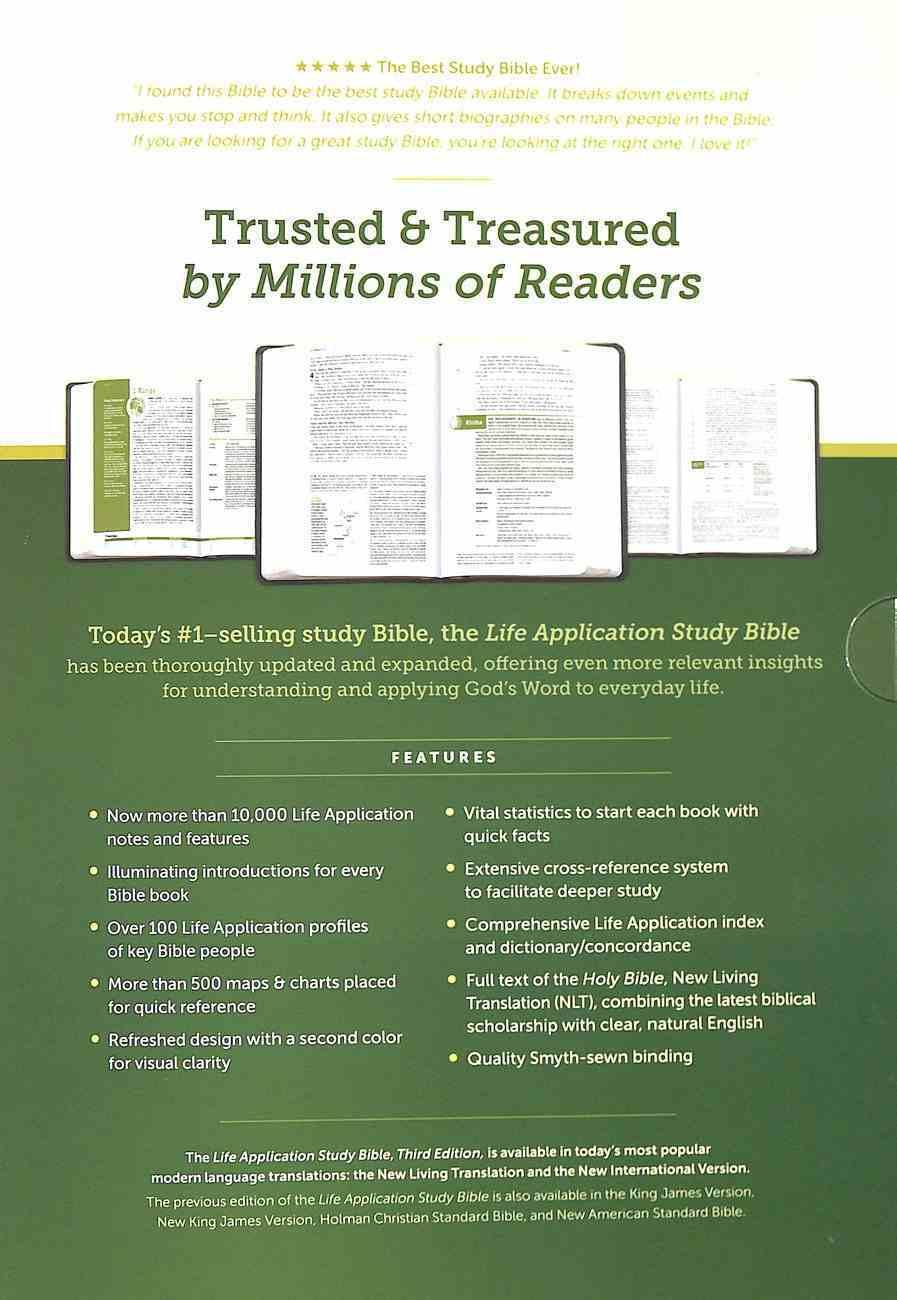 NLT Life Application Study Bible 3rd Edition (Black Letter) Hardback