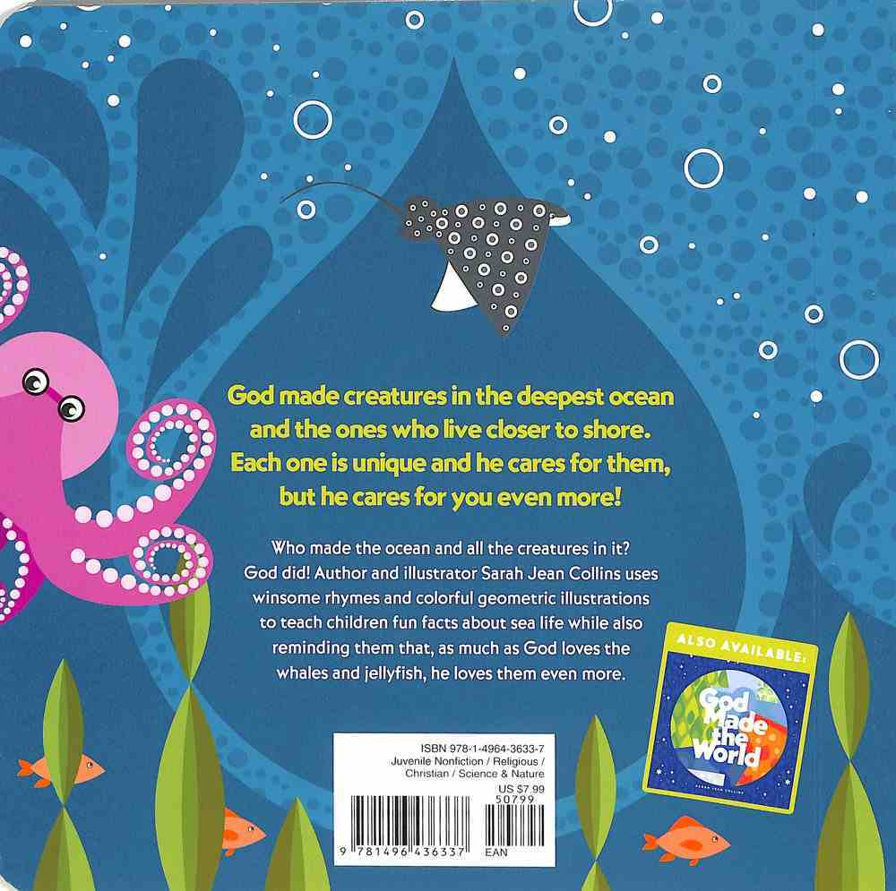 God Made the Ocean (God Made (Tyndale) Series) Board Book