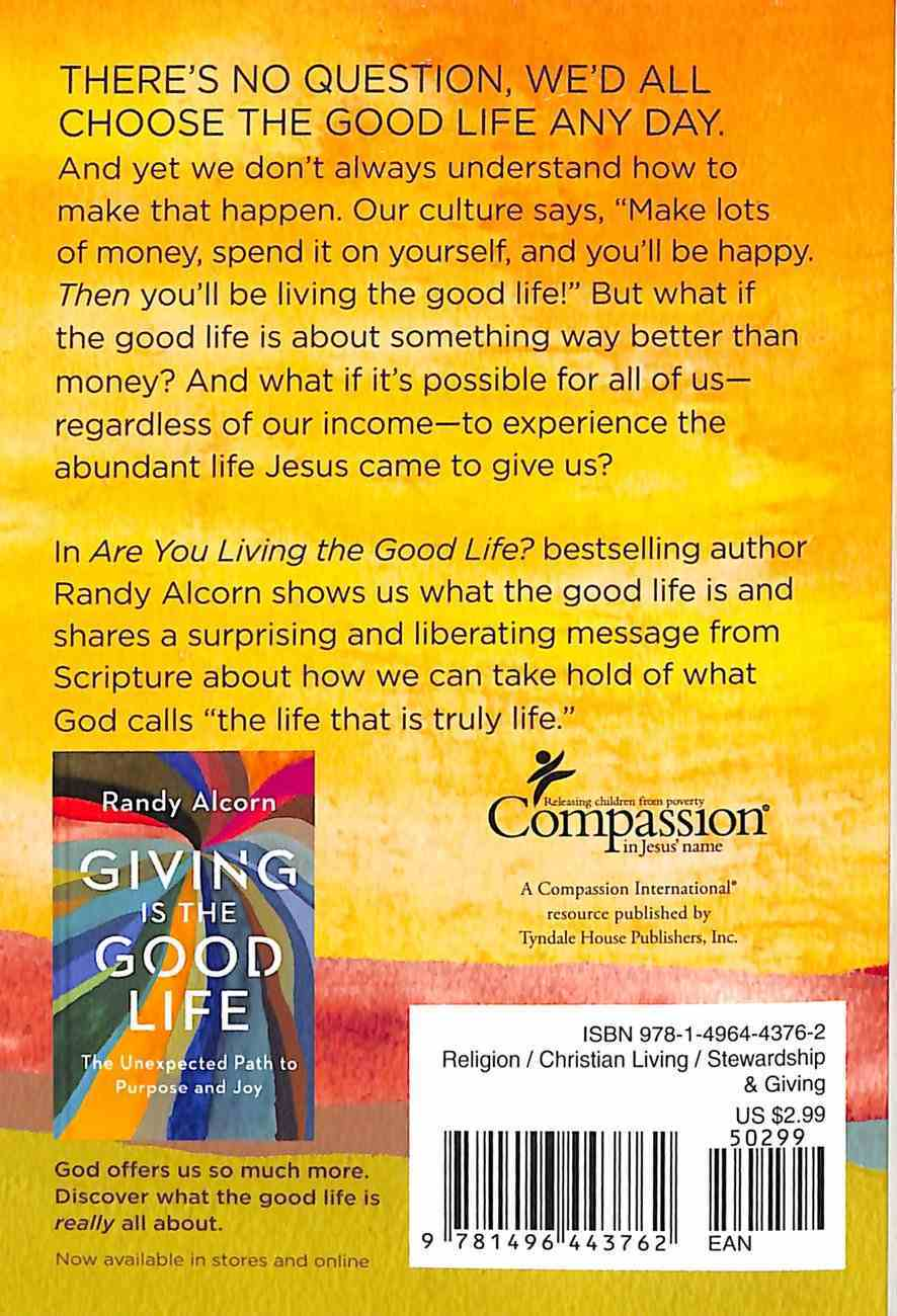 Are You Living the Good Life? Paperback