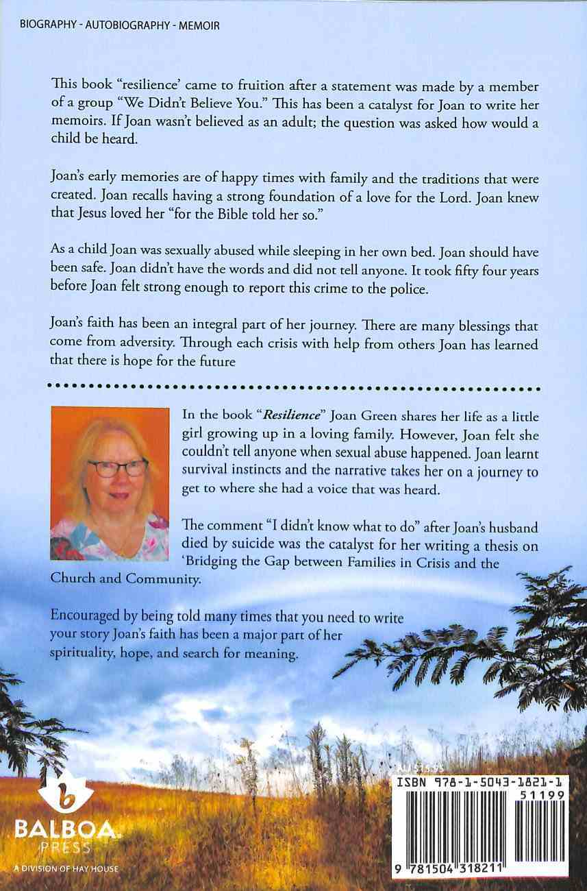 Resilience: Memoirs of Joan Green Paperback
