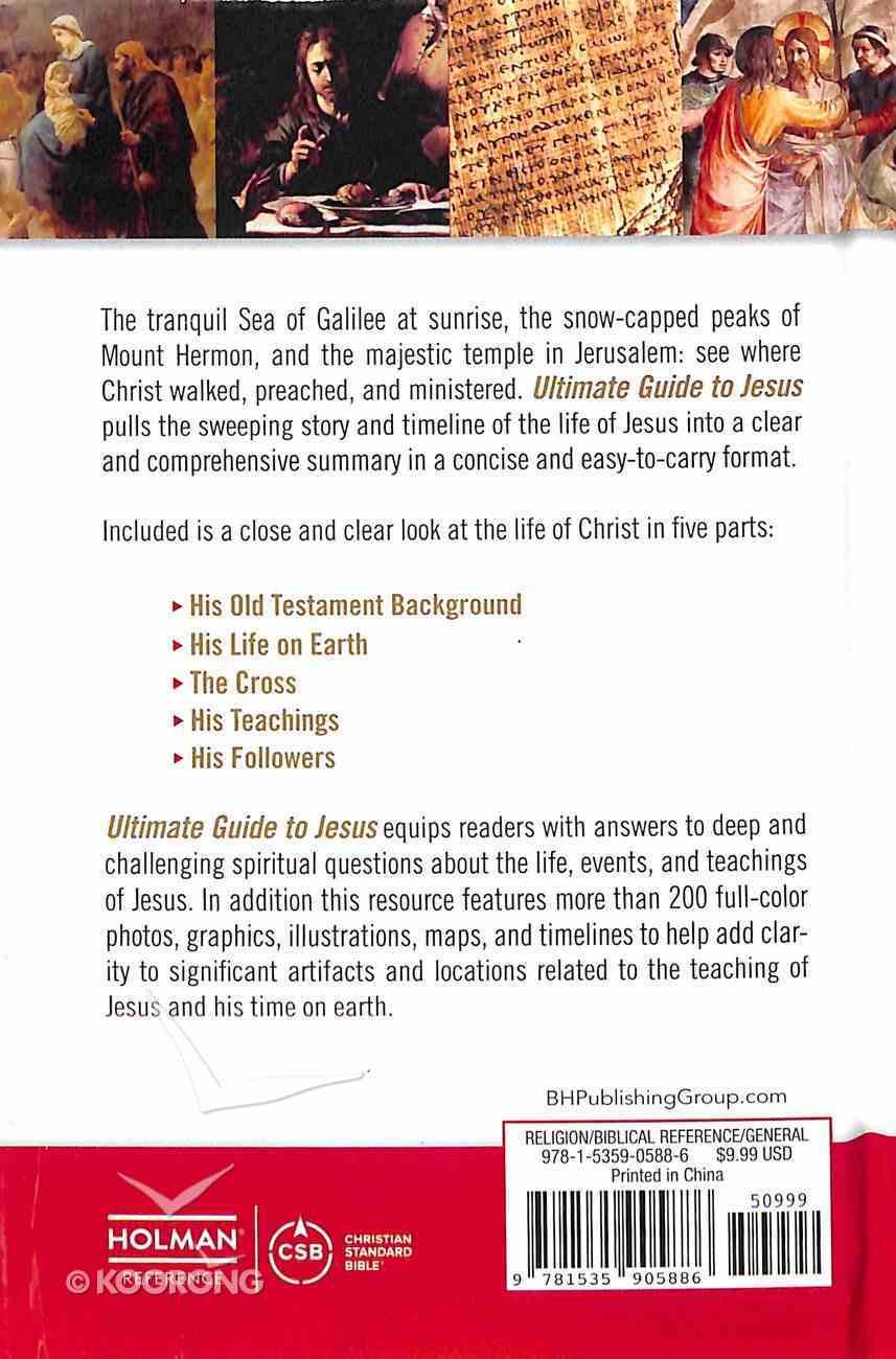 Ultimate Guide to Jesus Hardback