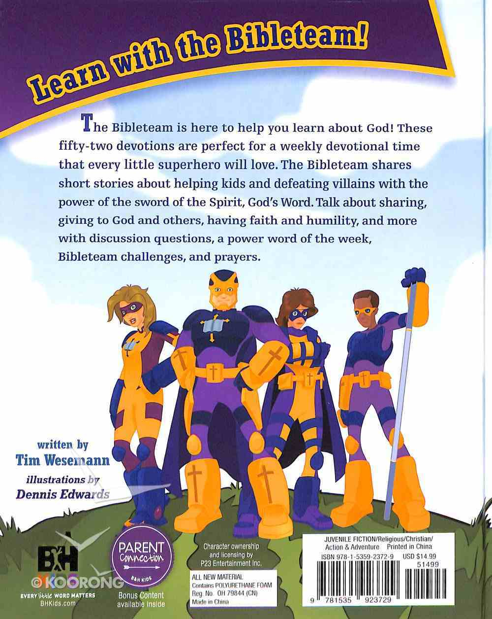 Bibleman Devotional: 52 Devotions For Heroes Hardback