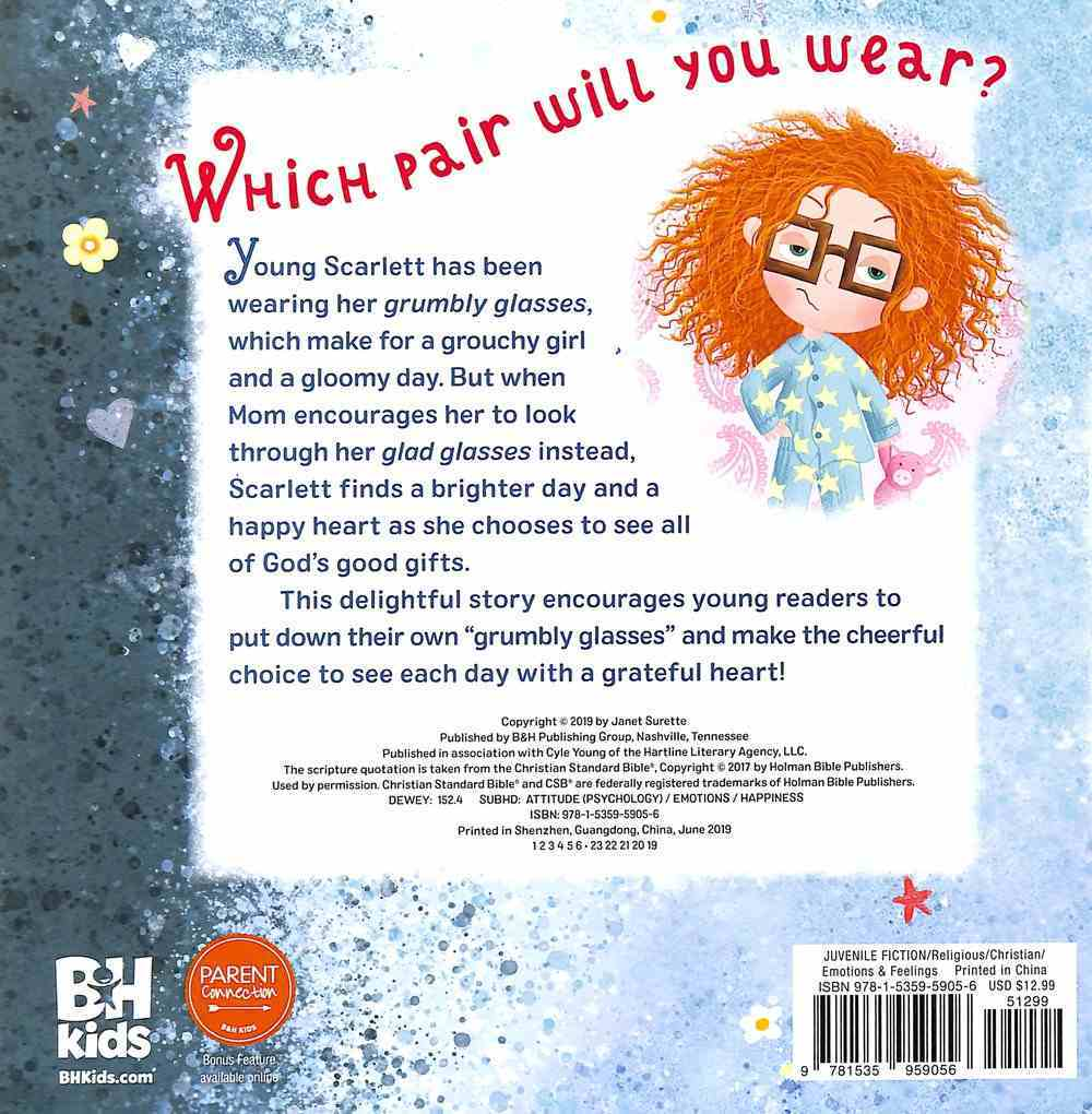 Scarlett's Spectacles: A Cheerful Choice For a Happy Heart Board Book