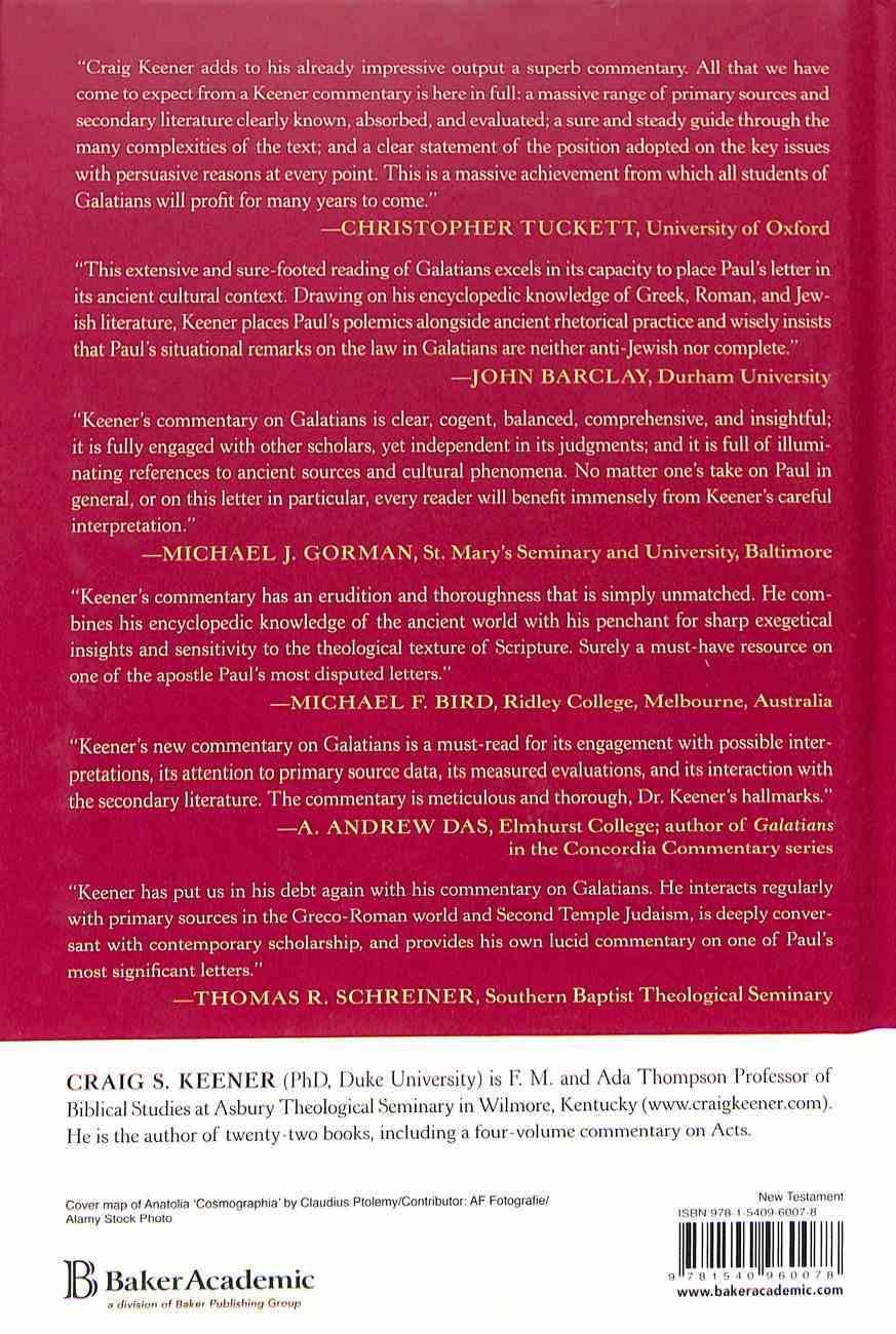 Galatians: A Commentary Hardback