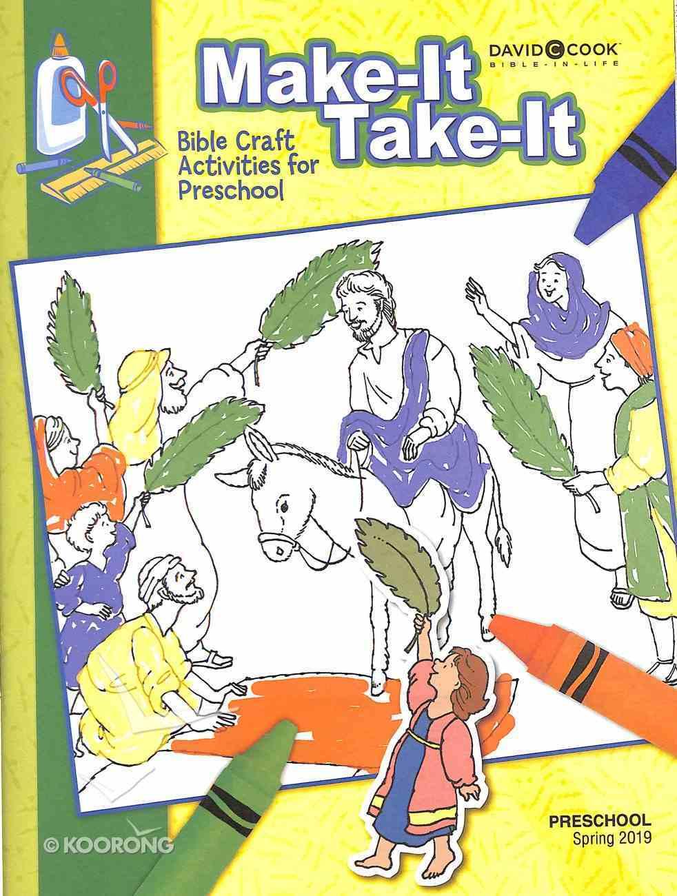 'Make It Take It' (Craft Book) (Bible In Life Curriculum Series) Paperback