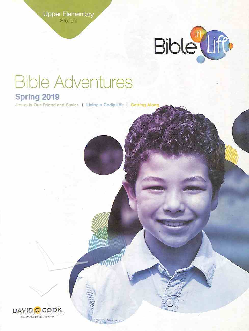 Bible Adventures (Student Book) (Bible In Life Curriculum Series) Paperback