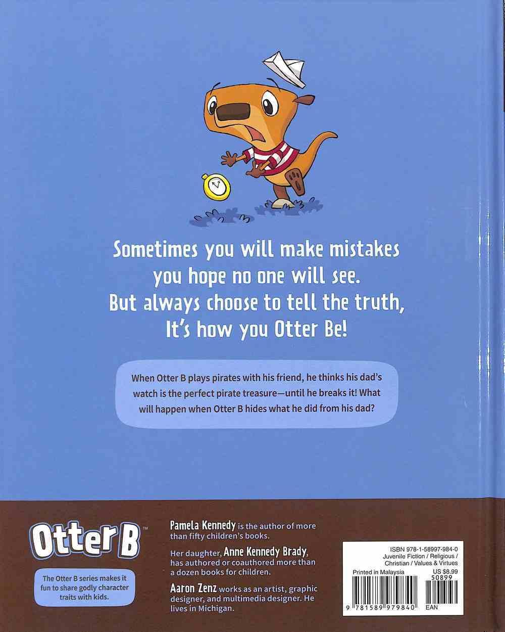 Honest (#01 in Otter B Series) Hardback
