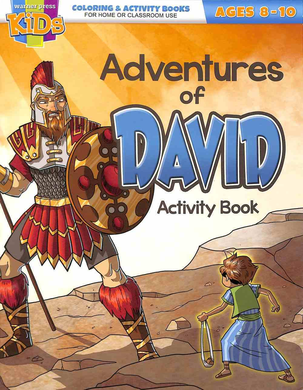 Adventures of David (Ages 8-10 Reproducible) (Warner Press Colouring & Activity Books Series) Paperback