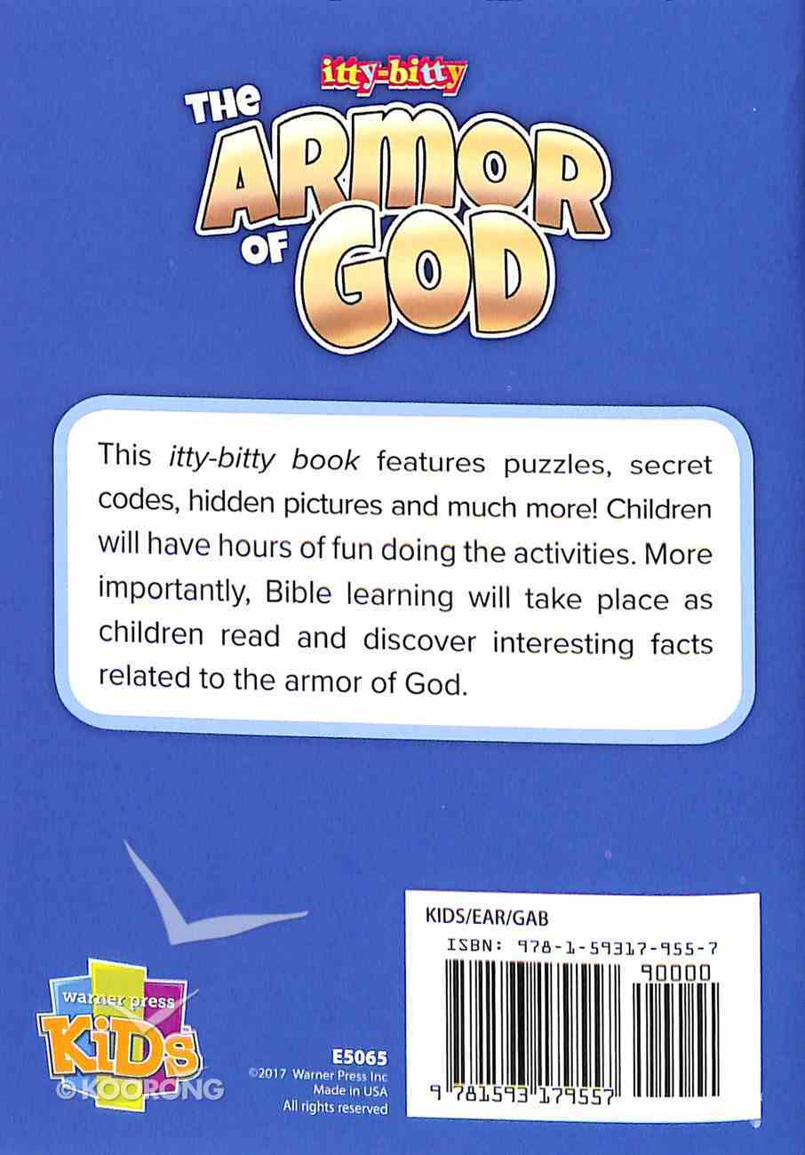 The Armor of God (Itty Bitty Bible Series) Paperback