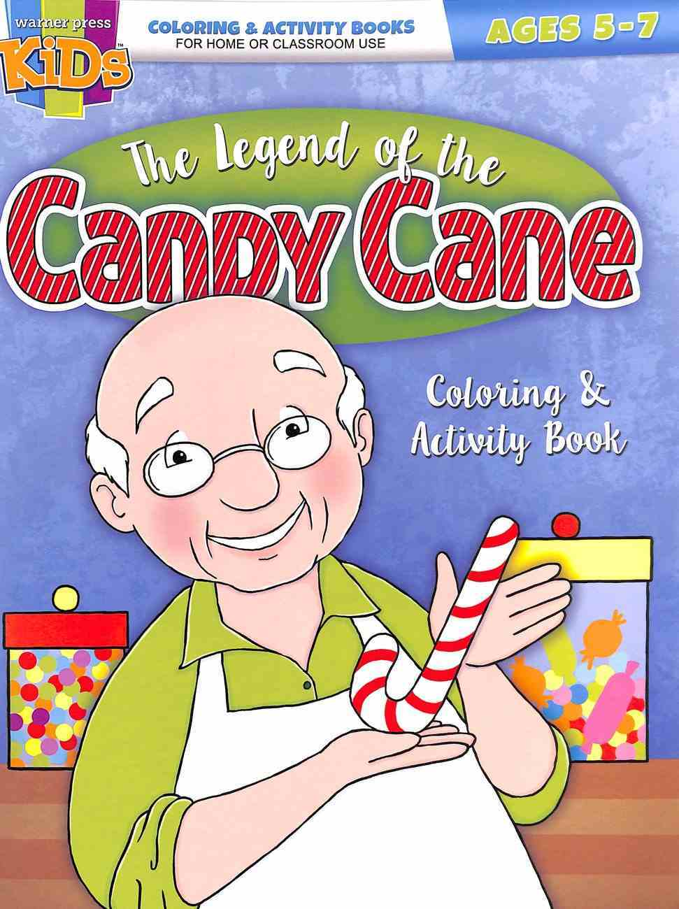 The Legend of the Candy Cane (Ages 5-7 Reproducible) (Warner Press Colouring & Activity Books Series) Paperback