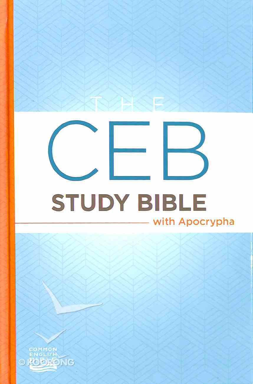 Ceb Study Bible With Apocrypha Hardback