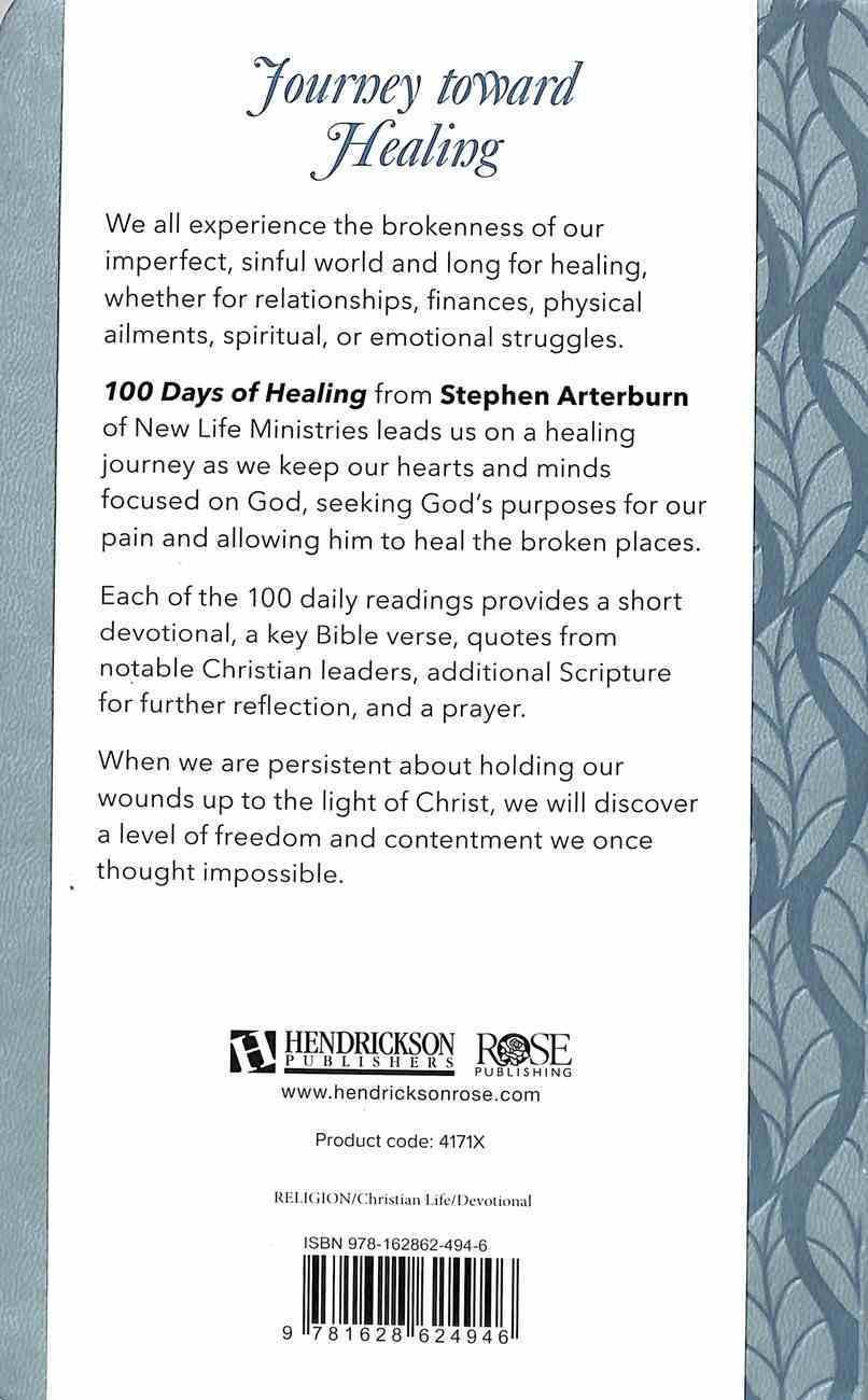 100 Days of Healing: Daily Devotional Flexi Back
