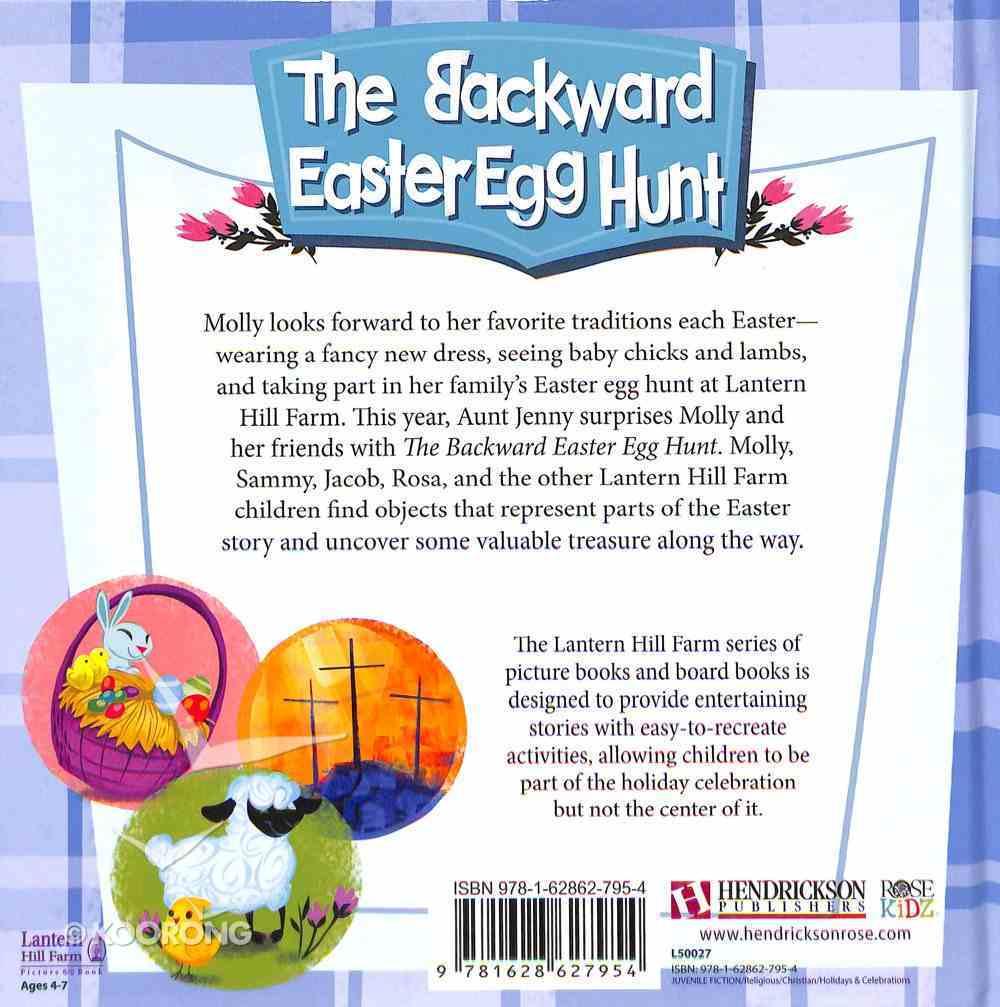 Backwards Easter Egg Hunt (Lantern Hill Farm Series) Hardback