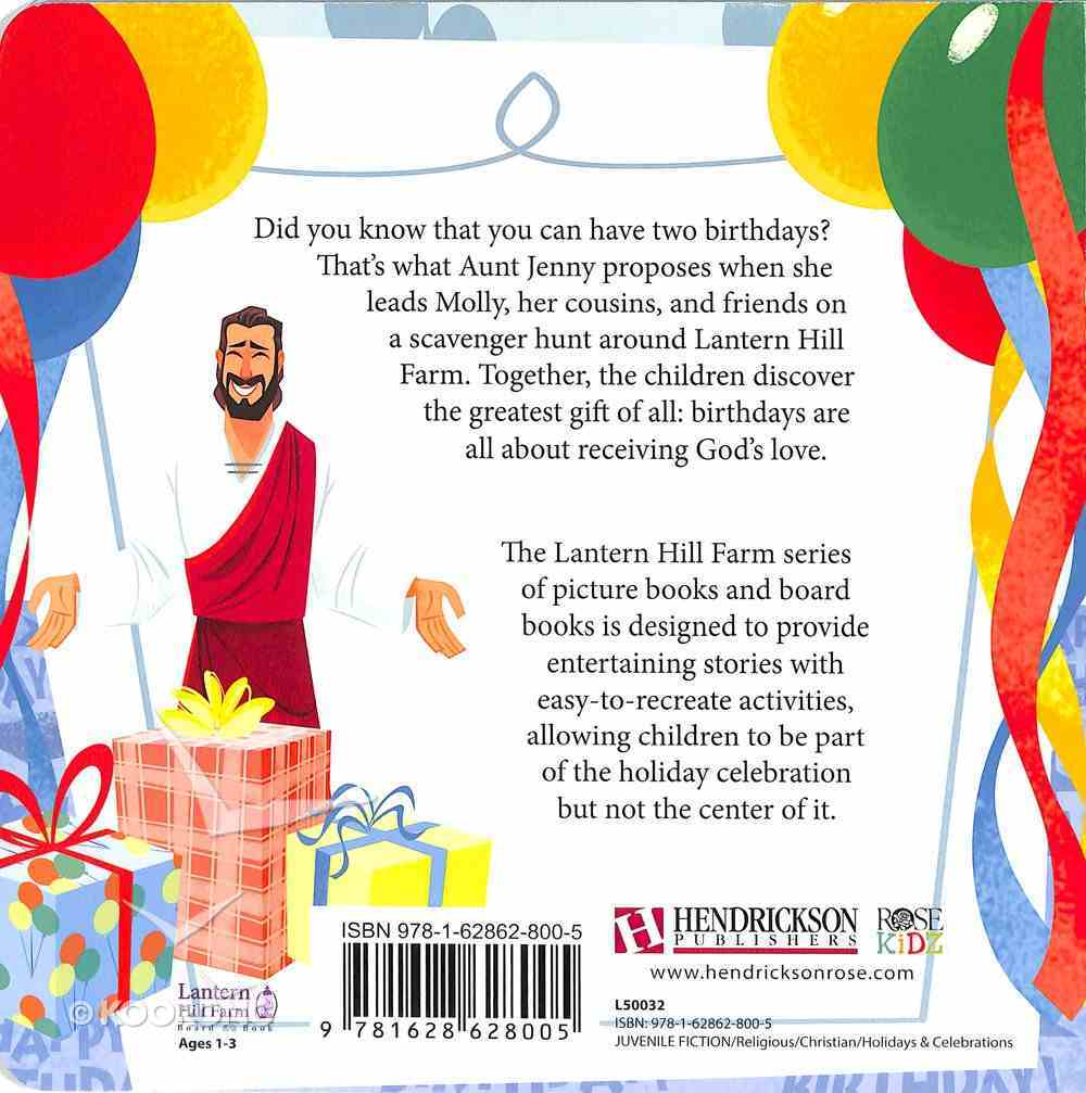 The Best Birthday (Lantern Hill Farm Series) Board Book