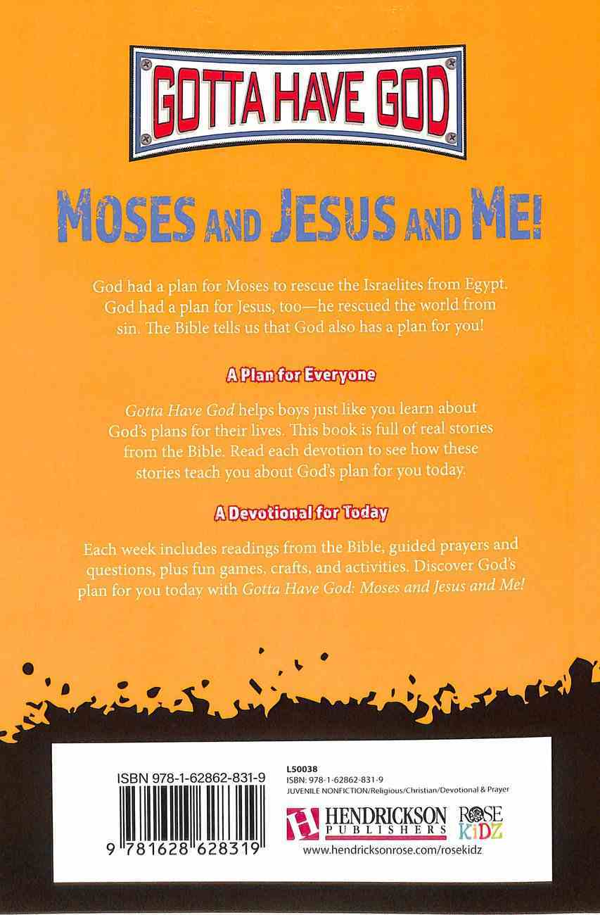 Moses and Jesus and Me! (Girls 10-12) (God And Me Series) Paperback
