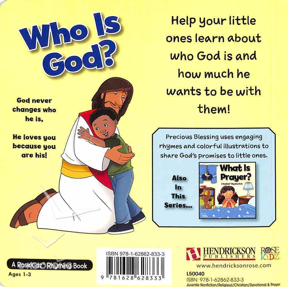 Who is God? (Precious Blessings Series) Board Book