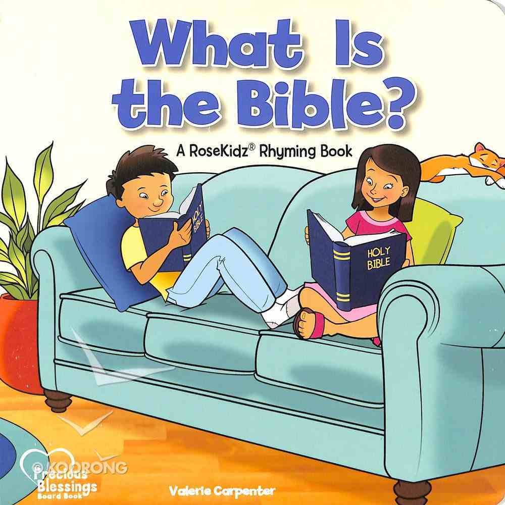 What is the Bible? (Precious Blessings Series) Board Book