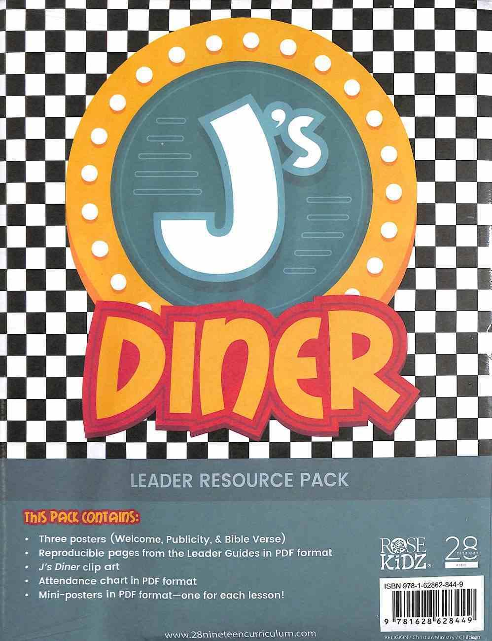 Leader Resource Pack (J's Diner Series) Pack