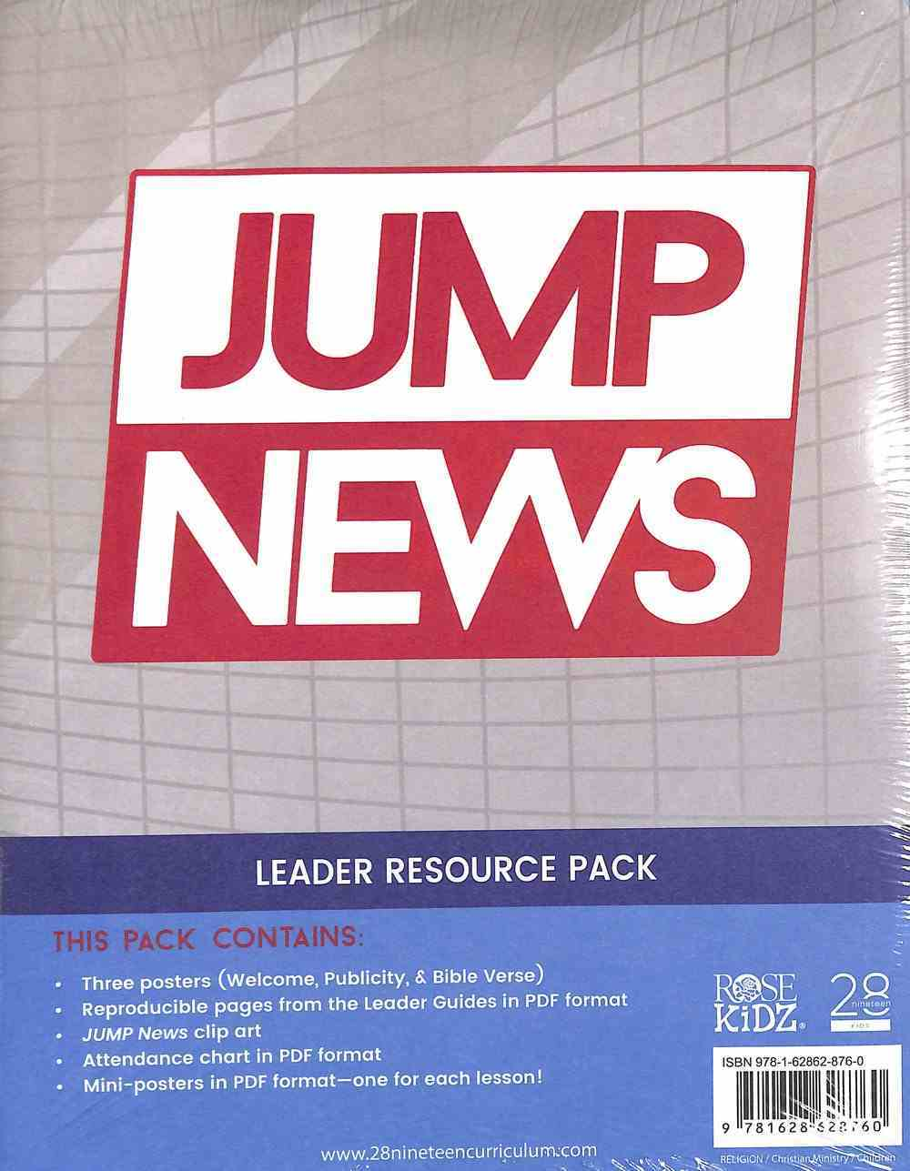 Leader Resource Pack (Jump News Curriculum Series) Pack