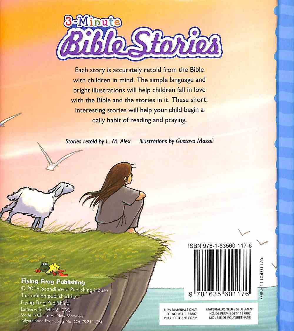 3-Minute Bible Stories Padded Hardback