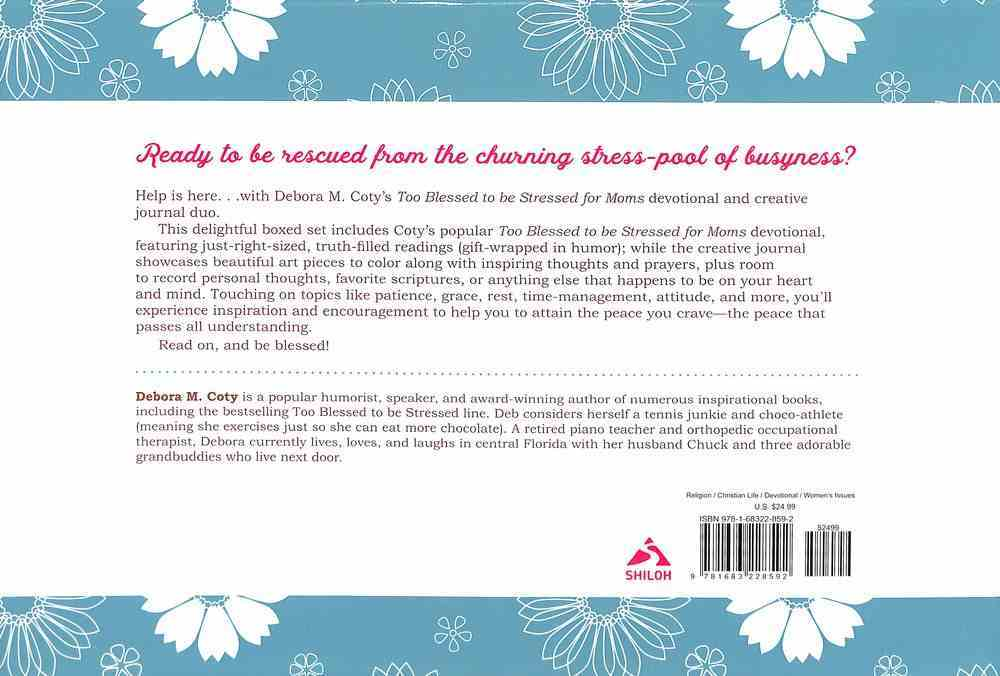 Too Blessed to Be Stressed For Moms (Boxed Set) General Gift