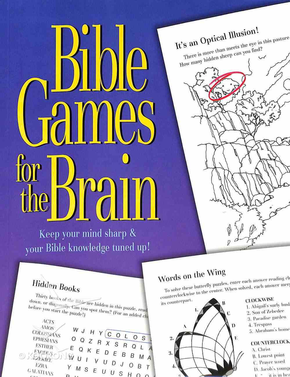 Bible Games For the Brain Paperback