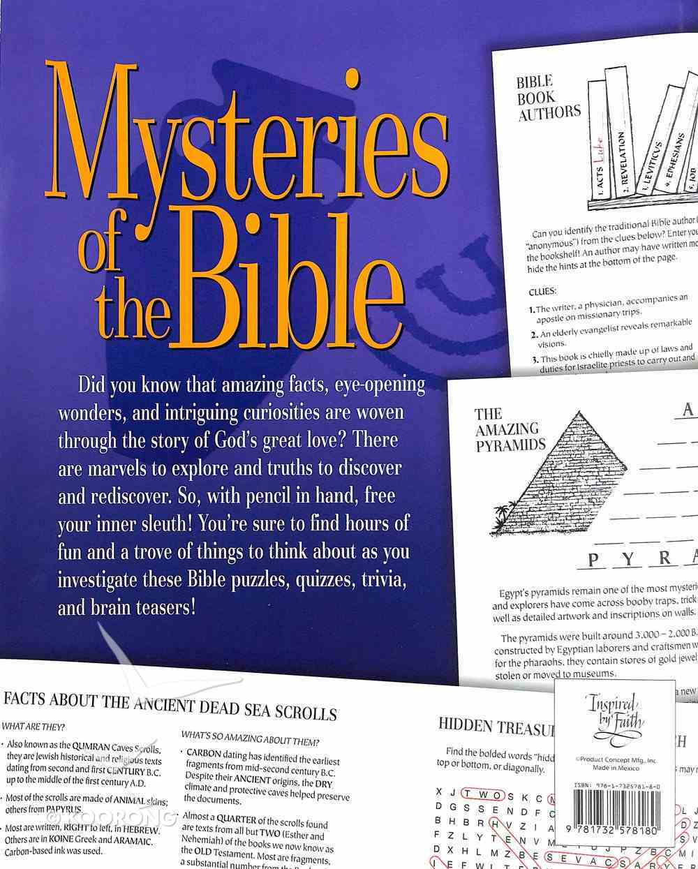 Mysteries of the Bible Paperback