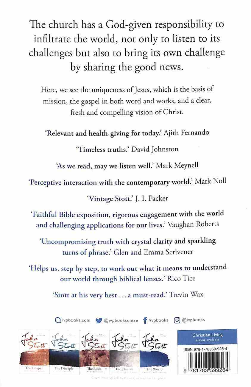 World, The: A Mission to Be Accomplished (The Contemporary Christian Series) Paperback