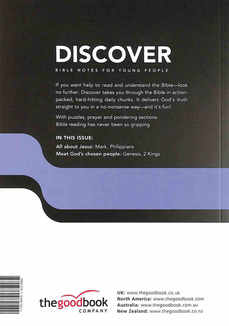 Genesis, Elisha, Pilippians, Mark (#02 in Discover Bible Notes For Young People Series) Paperback