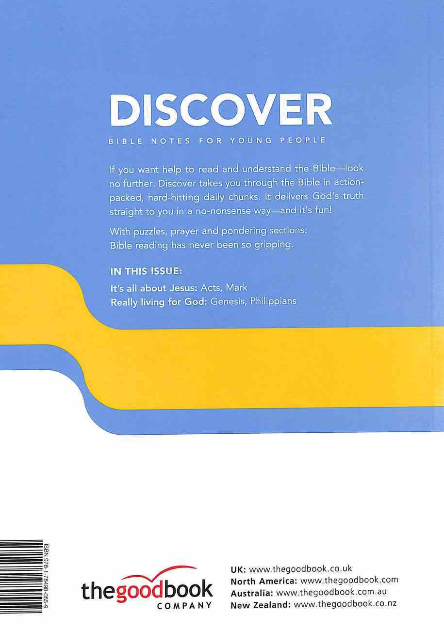 Jesus, Acts, Jacob, Philippians (#03 in Discover Bible Notes For Young People Series) Paperback