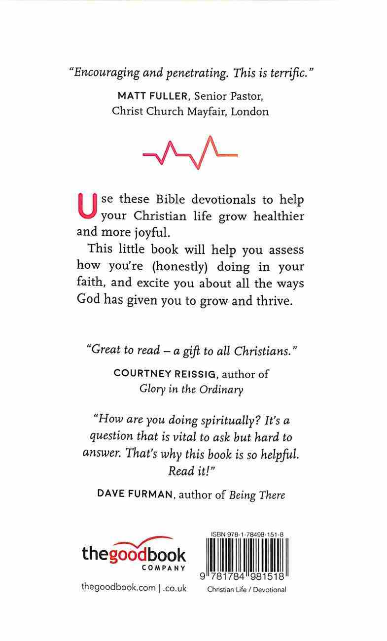 Spiritual Healthcheck: 16 Steps to a Thriving Christian Life Paperback