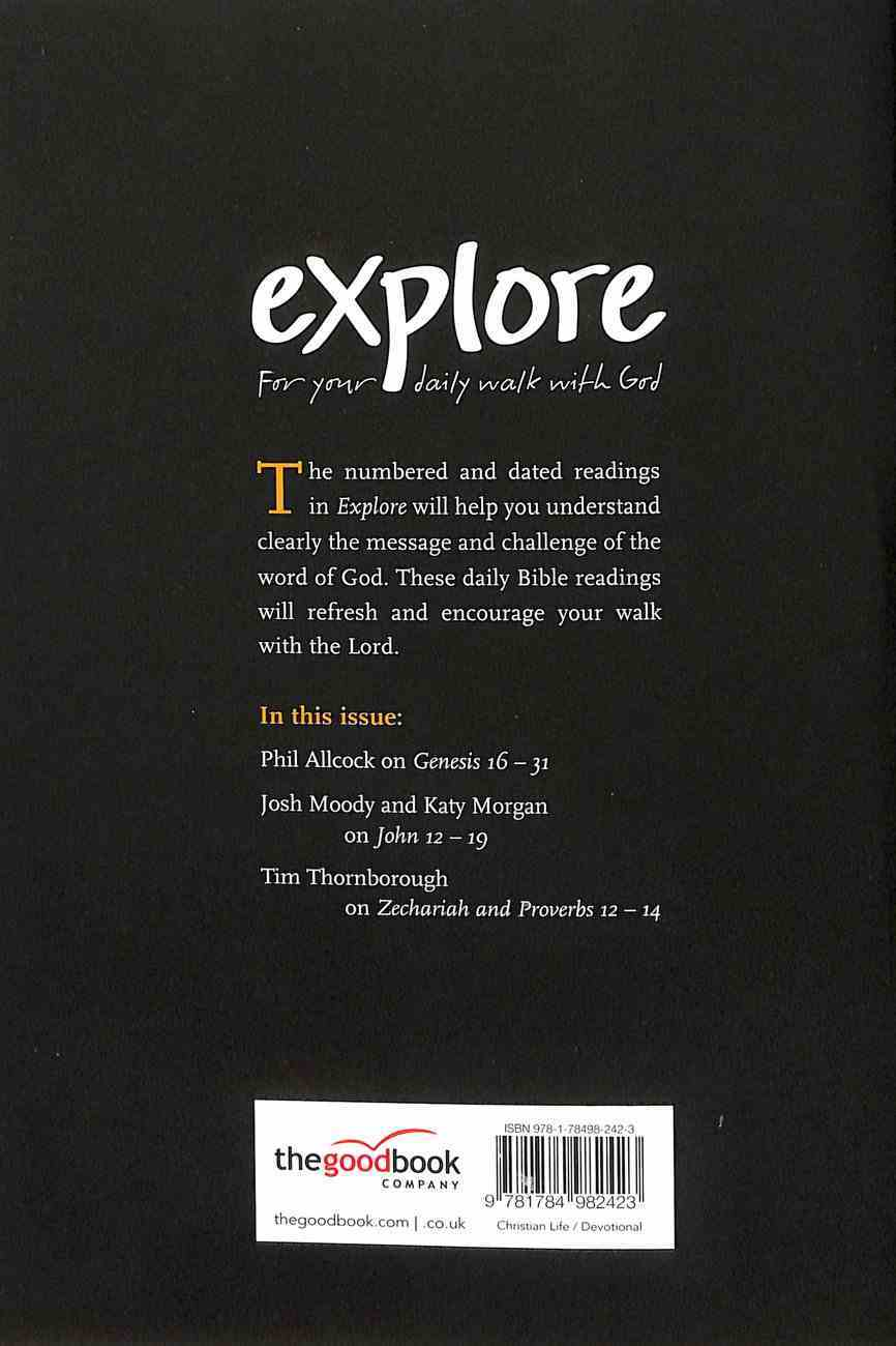 Explore: For Your Daily Walk With God (Jul-sep 2019) Paperback